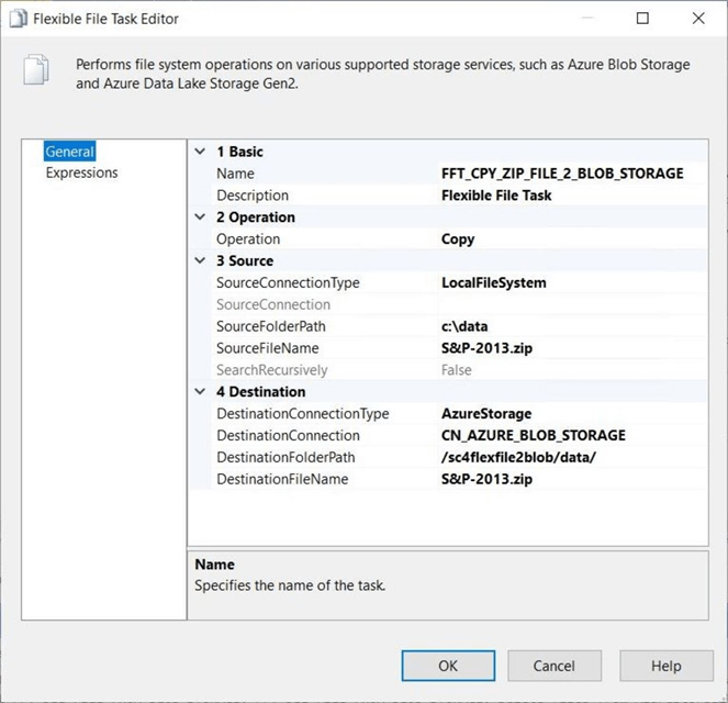Azure Blob Destination