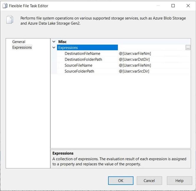 灵活的文件任务编辑器