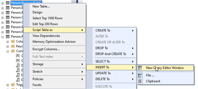 Dynamically Build SQL Server Insert, Update and Delete Statements with Excel