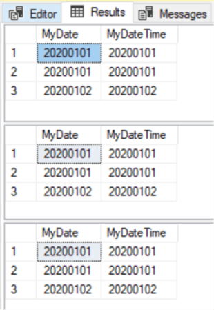 Convert Dates to Char.