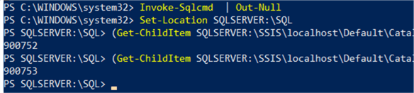 executing ssis package with single command