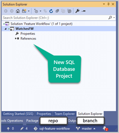 New SQL Database Project