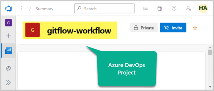 Creating Azure DevOps Project