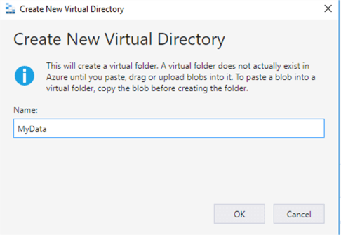 create a new directory