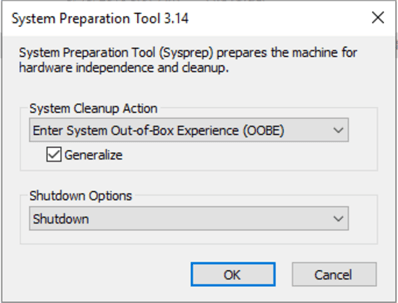 system preparation tool
