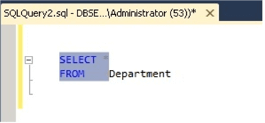 Convert code to Upper Case in SSMS