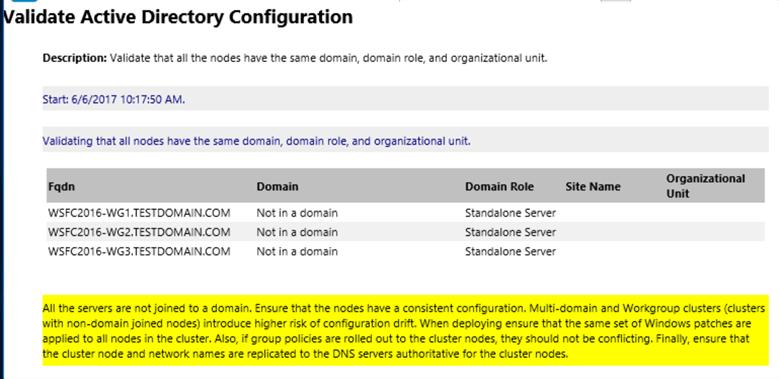 valider la configuration de Active Directory
