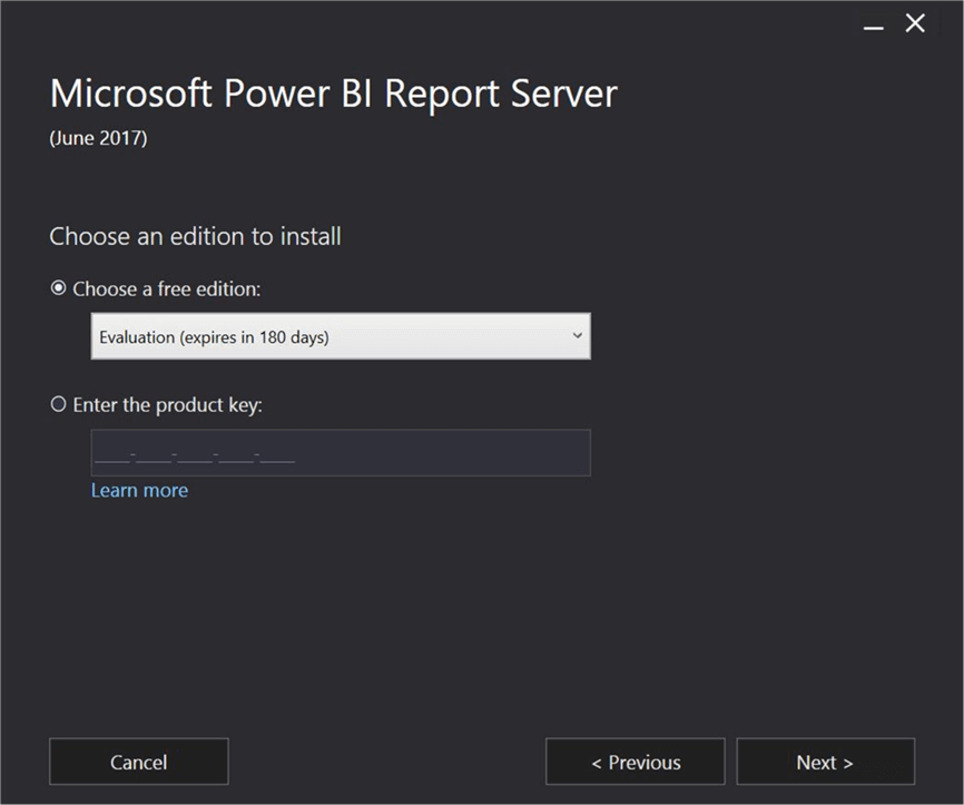 Install and configure Power BI Report Server and Power BI