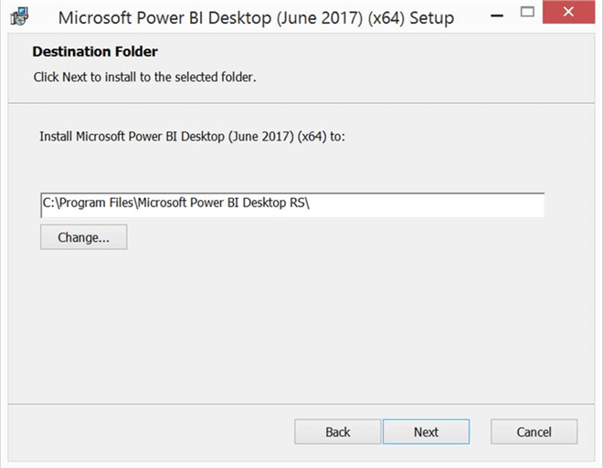 Install and configure Power BI Report Server and Power BI