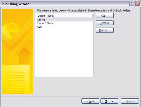 publishing wizard