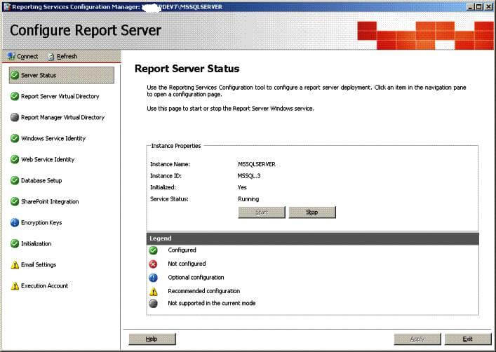 SQL Server Reporting Services Integration with SharePoint