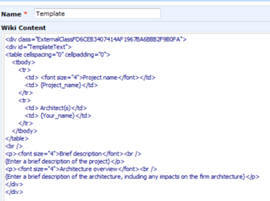 Sharepoint wiki templates html source of template text in wiki page maxwellsz
