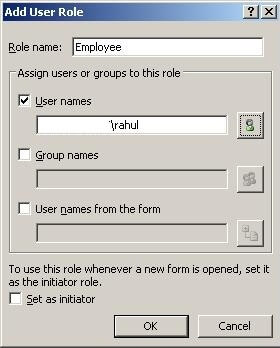 add user role