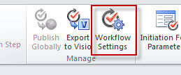 workflow settings