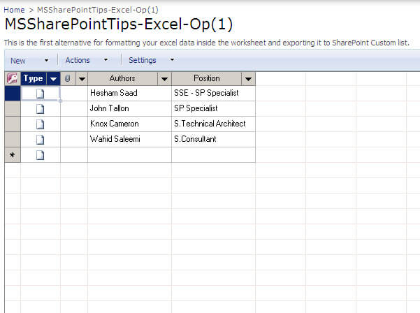 sharepoint tips