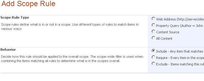 add scope rule