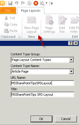 Creating Page Layouts In Sharepoint 2010