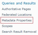 metadata properties
