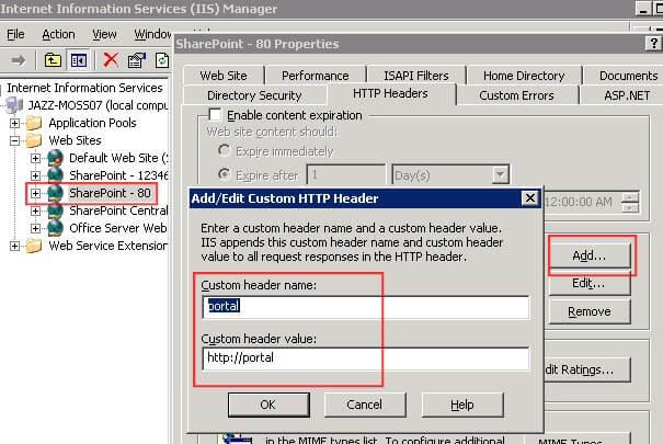 Using A Host Header As A SharePoint Site Path