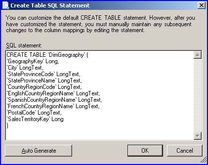 Simple way to export data from sql server for Sql table design questionnaire