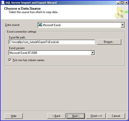 Simple way to import data into SQL Server