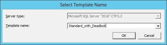 SQL Profiler - Template Name