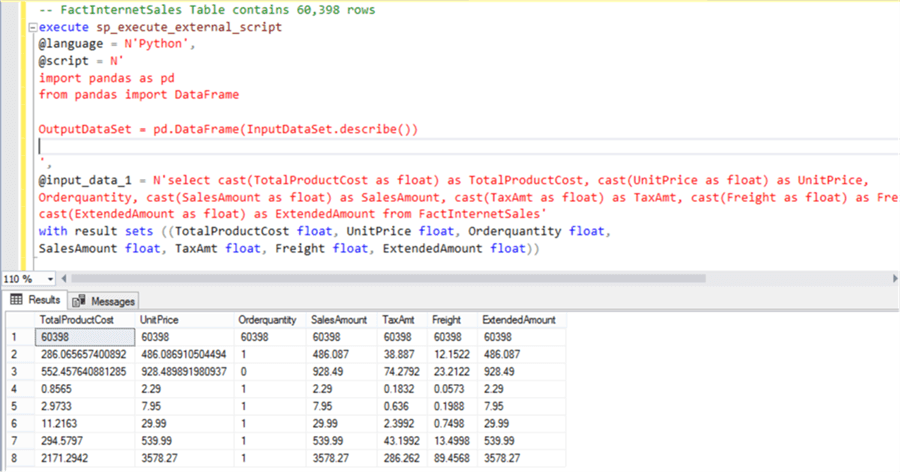 Python Script - Description: Python Script