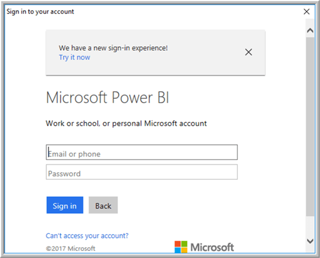 Power BI - Description: Power BI Link