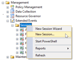 Import an Extended Events Session