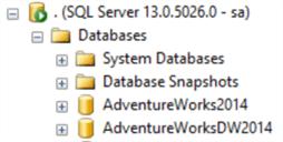 ssms database list