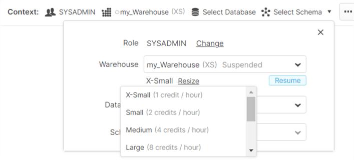 newly created warehouse