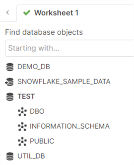 database and its schemas