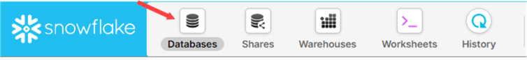 databases in menu