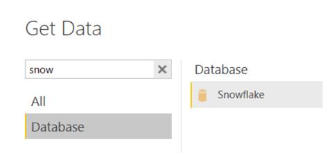 get data snowflake